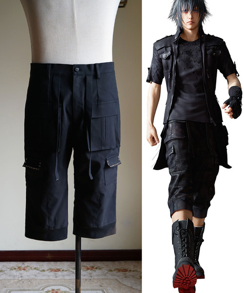 Final Fantasy XV / FF15 (Game) Cosplay, Noctis Lucis Caelum Middle Pants Costume