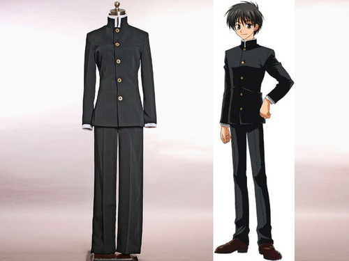 Kyo Kara Maoh! Cosplay,Yuri Shibuya Japan Boy School Uniform Set