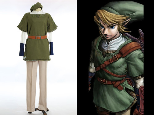 The Legend of Zelda: Twilight Princess cosplay Link Costume Set