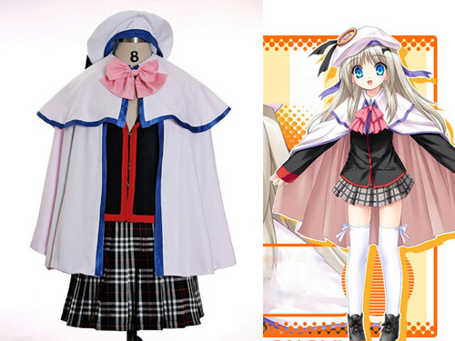 Little Busters Cosplay, Noumi Kudryavka School Uniform Set