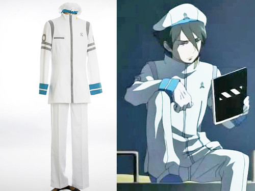 Psalms of Planets Eureka SeveN Cosplay Dominic Costume Set