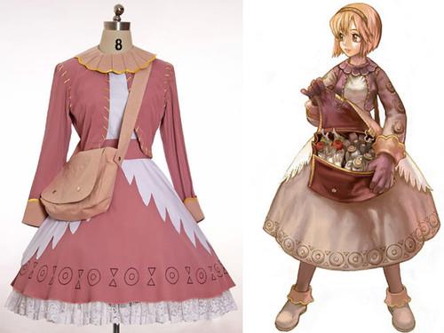 Ragnarok Online Cosplay, Merchant Costume Outfit