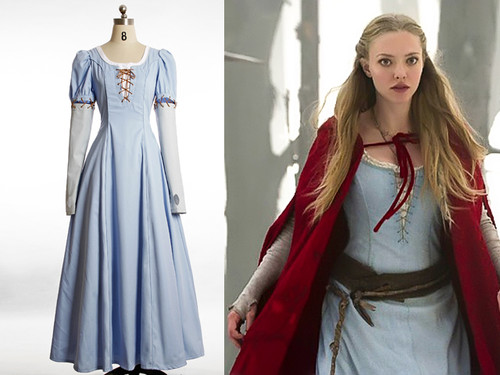 Red Riding Hood (Movie) Cosplay, Valerie Costume Renaissance Medieval Dress