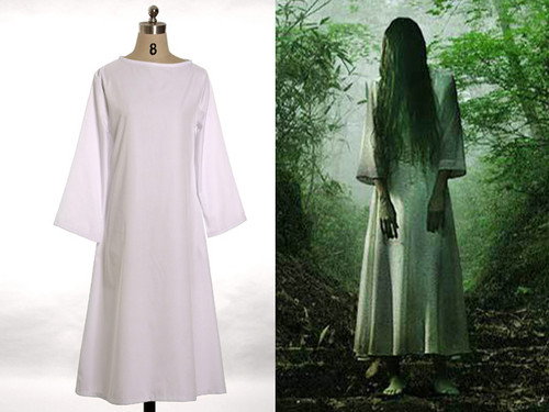 Ring/Ringu Cosplay, Sadako Costume One-Piece Dress