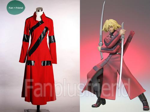 Samurai 7 Cosplay Costume, Kyuzo Cloak