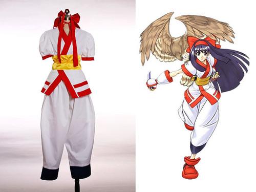 Samurai Spirits Cosplay, Nakoruru Combats Kimono Outfit