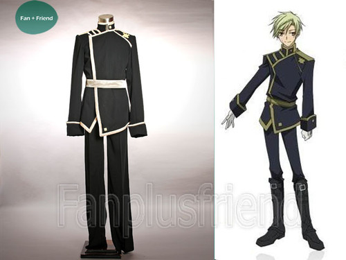07 Ghost Cosplay, Konatsu Wallen Military Uniform