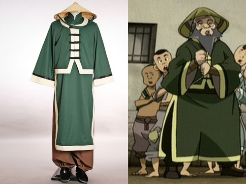 Avatar Cosplay, Iroh Costume*3pcs set