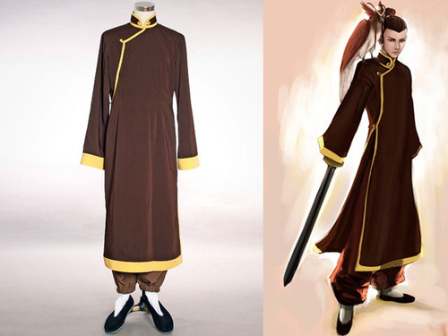 Avatar Cosplay, Sokka, Sword Master Costume