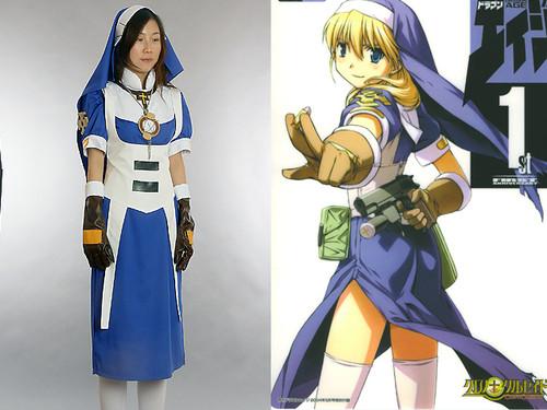 Chrono Crusade Cosplay, Rosette Costume