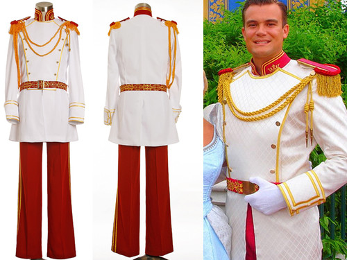 Disney Cinderella Cosplay, Prince Charming Costume Set