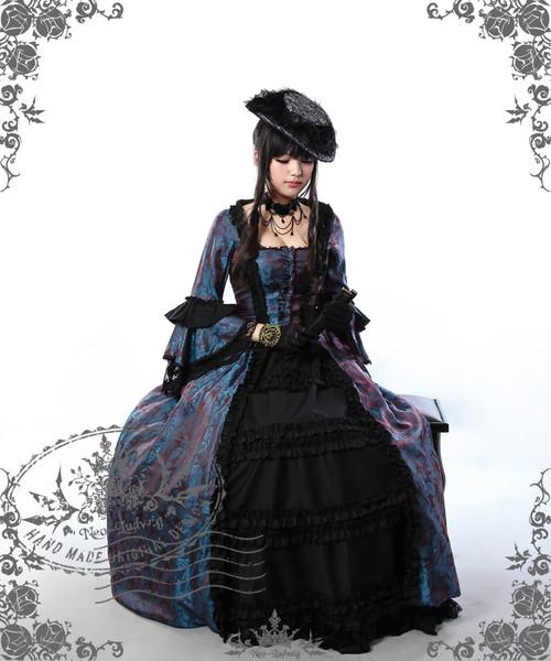 Rococo Baroque 18th Century Clothing Renaissance Costume Period Vintage Wedding Dress Halloween Cosplay