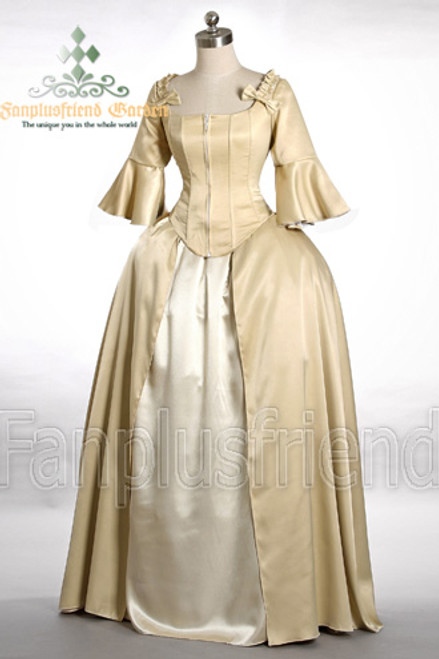 Rococo/Baroque 18th Century Clothing Renaissance Costume Gold Period ...