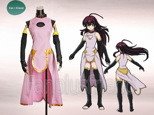 Black God/KuroKami Cosplay, Kuro Costume Set