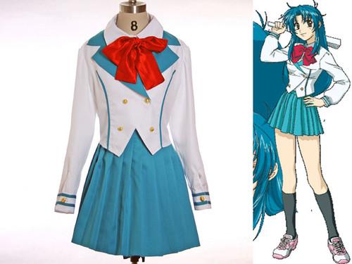 Full Metal Panic Cosplay, Kaname Chidori Girl School Uniform Set
