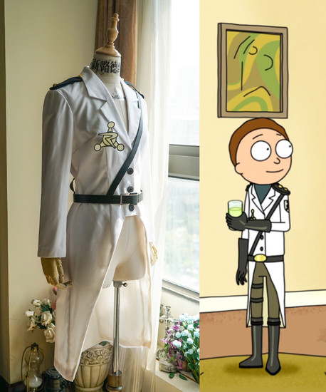 Rick And Morty Tv Series Cosplay Morty Smith Uniform Jacket