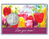 Mother's Day Silver Eagle Acrylic Display - Flowers 1 Theme