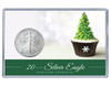 Christmas Silver Eagle Acrylic Display - Cupcake