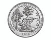 Michigan Pictured Rocks  Quarter P Mint - 2018