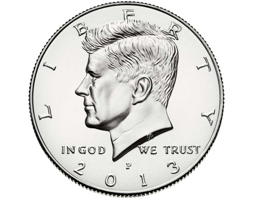 "2013 Kennedy Half Dollar ""P"" Roll"