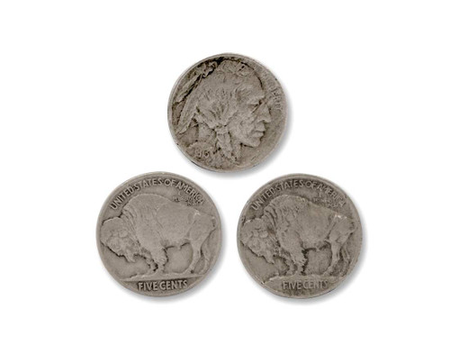 The Calf-Buffalo Nickel Type 1 & 2