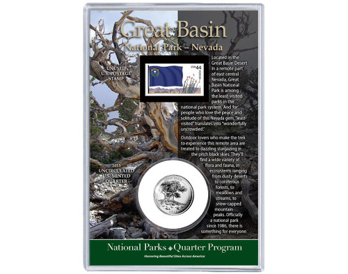 Great Basin National Park Coin & Stamp Set