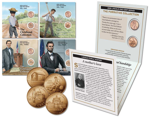 Lincoln Cent Collection 4-Pack