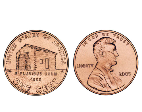 2009 Lincoln Childhood P Mint Cent