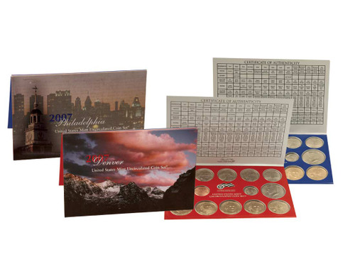 2007 US Mint Set