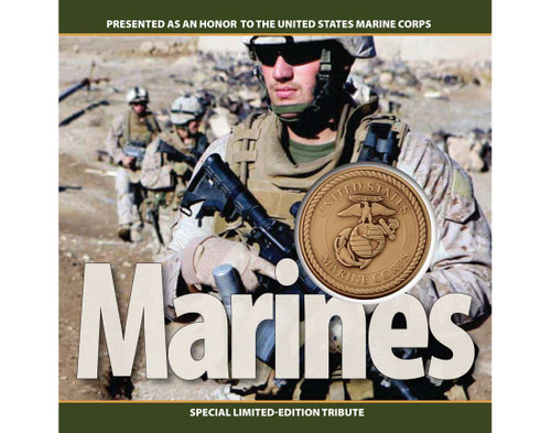 Marines Challenge Coin Tribute Collection