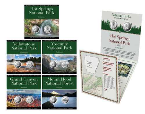 2010 National Parks Quarter Annual Pack