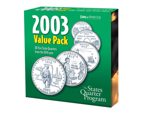 2003 Quarter Collection Annual Pack