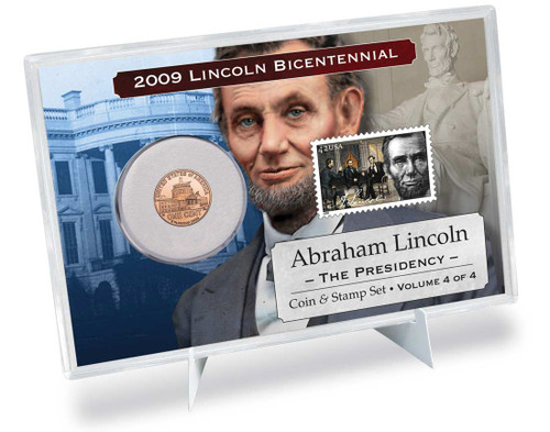 Lincoln Presidency Coin & Stamp Set