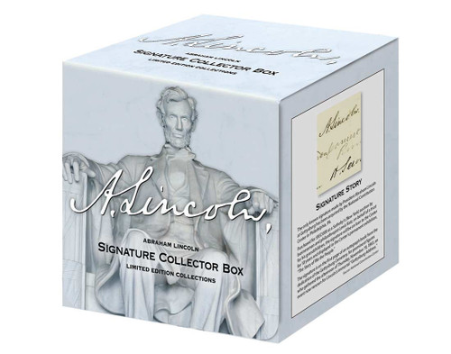 Lincoln Signature Collector Box