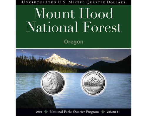 Mount Hood National Park Quarter Collection