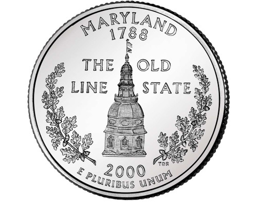 2000 Maryland Quarter D Mint