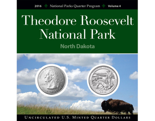 Theodore Roosevelt National Park Quarter Collection