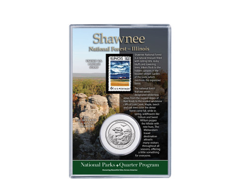Shawnee National Forest Coin & Stamp Set