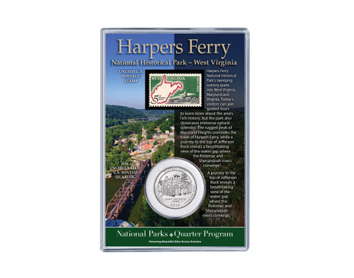 Harpers Ferry National Historical Park Coin & Stamp Set