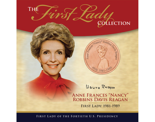 "Anne Frances ""Nancy"" Robbins Davis Reagan First Lady Collection - 40th Presidency"