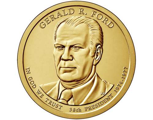 Gerald R. Ford $1 D Mint Single Coin