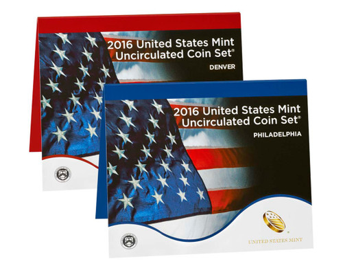 2016 US Mint Set