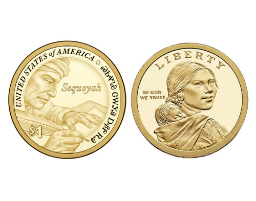 2017 Native American P Mint Dollar