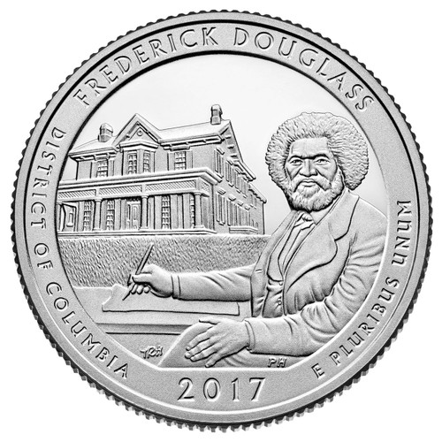 Frederick Douglass National Historical Site Quarter P Mint
