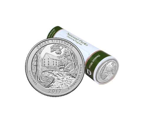 Ozark National Scenic Riverways D Mint Quarter Roll