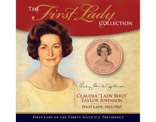 """Claudia """"Lady Bird"""" Johnson First Lady Collection - 36th Presidency"""
