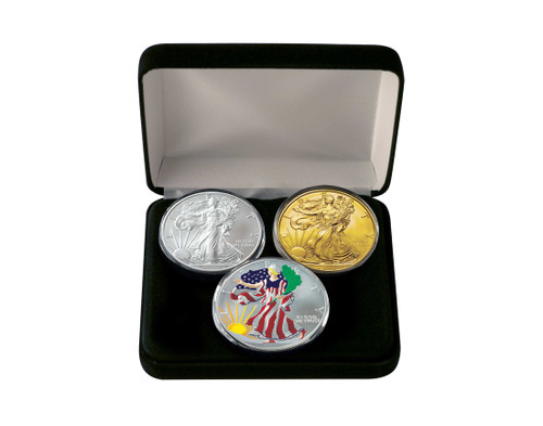 2018 American Eagle 3-Coin Set  sc 1 st  Coins of America & American Eagles - Gold Plated Eagles - Page 1 - Coins of America