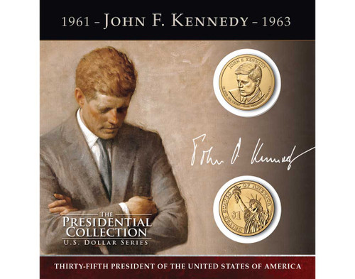 John F. Kennedy $1 Coin Collection