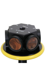 SECO 360° Robotic 77 mm Prism Assembly - Yellow