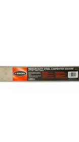 KESON Medium Duty Steel Carpenter Square  16 X 24